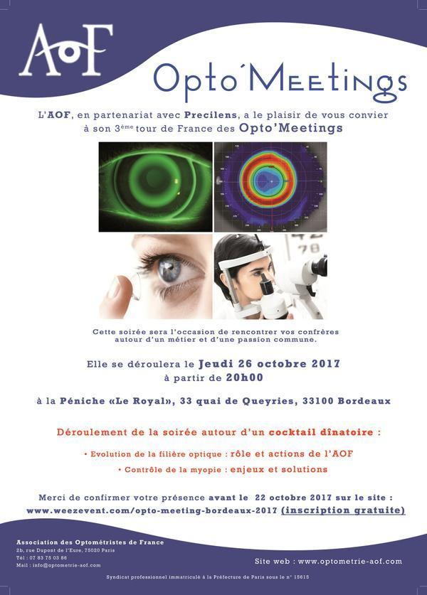 Opto'Meeting BORDEAUX : Inscription gratuite.