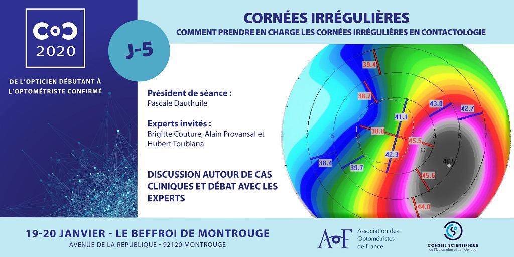 C.O.C.2020 / J-5 CORNÉES IRRÉGULIÈRES
