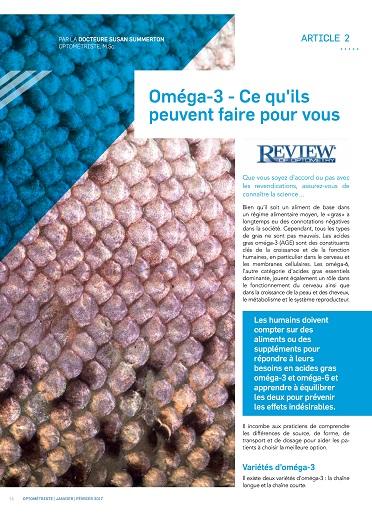 Oméga-3 - Ce qu'ils peuvent faire pour vous