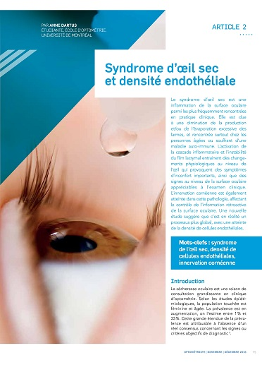 Syndrome oeil sec