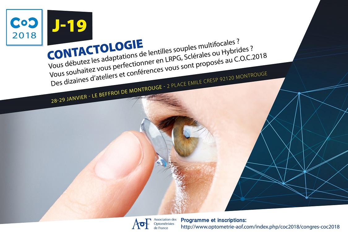 C.O.C 2018 J-19 : Contactologie