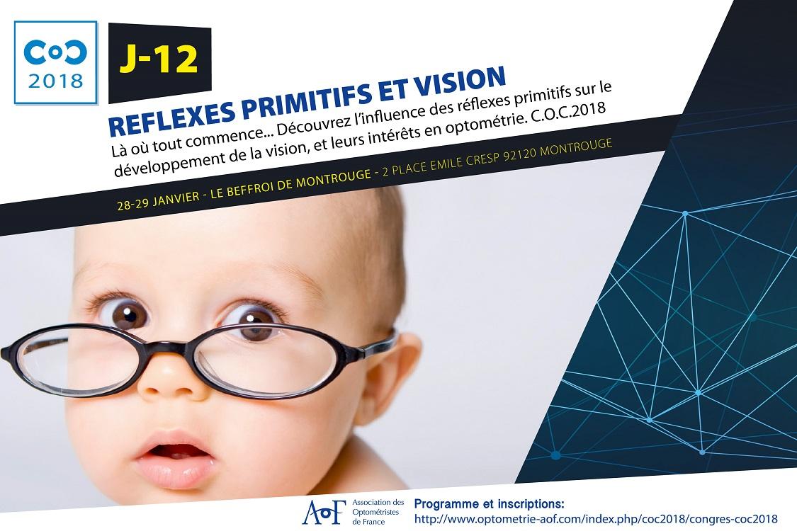 C.O.C 2018 J-12 : Réflexes primitifs et vision