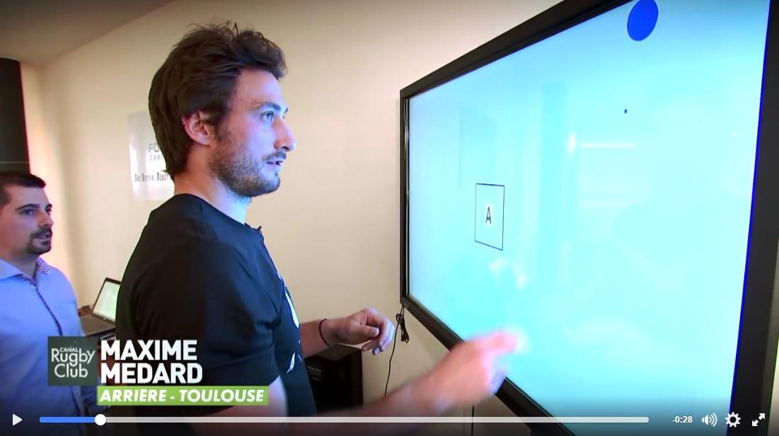 fouroux sport vision et l 39 entrainement visuel du sportif sur canal news actualit s. Black Bedroom Furniture Sets. Home Design Ideas