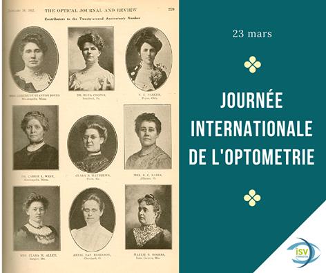 JOURNÉE INTERNATIONALE DE L'OPTOMÉTRIE