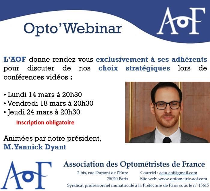 OPTO'WEBINAR