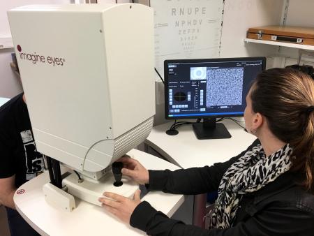 La recherche en optométrie, au cœur de l'activité du laboratoire à Orsay