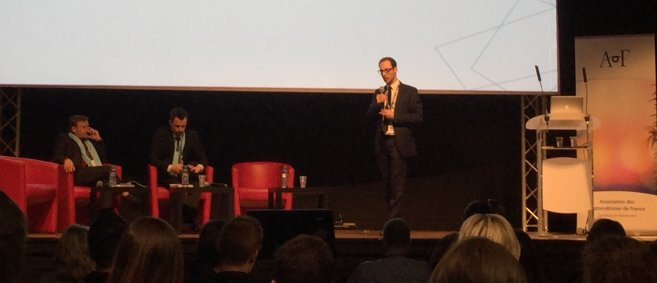 L'AOF présente son nouveau président, Yannick Dyant