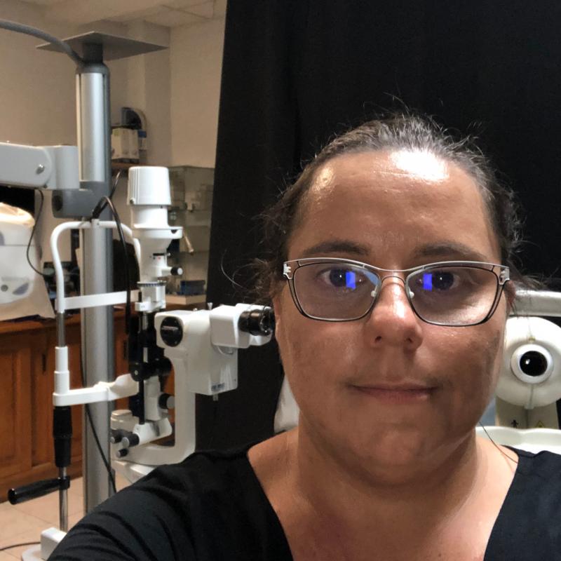 Aurélie CAMPIN (MARTINERO) (Optométriste en Formation)